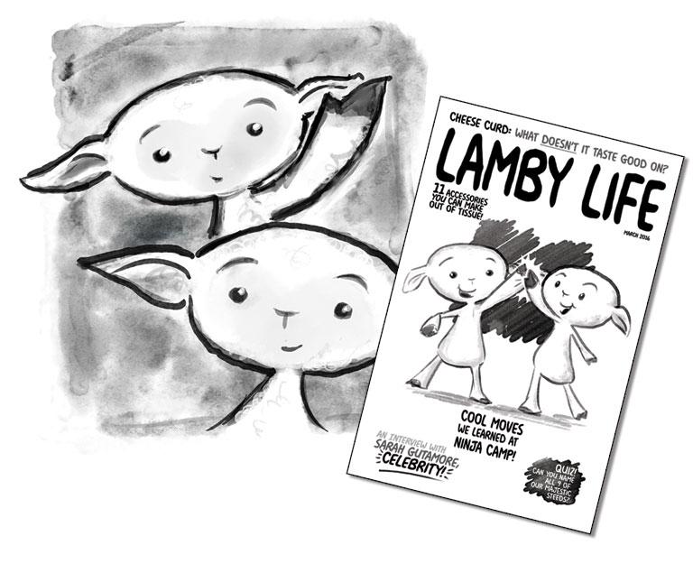 Minicomic: Lamby Life!